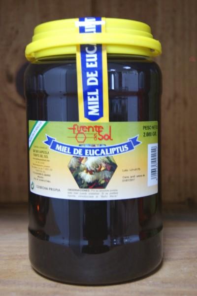 Miel de Eucaliptus, fuente de salud. Alimento Natural de Apícola Fuente del Sol de Alhaurín el Grande, Málaga