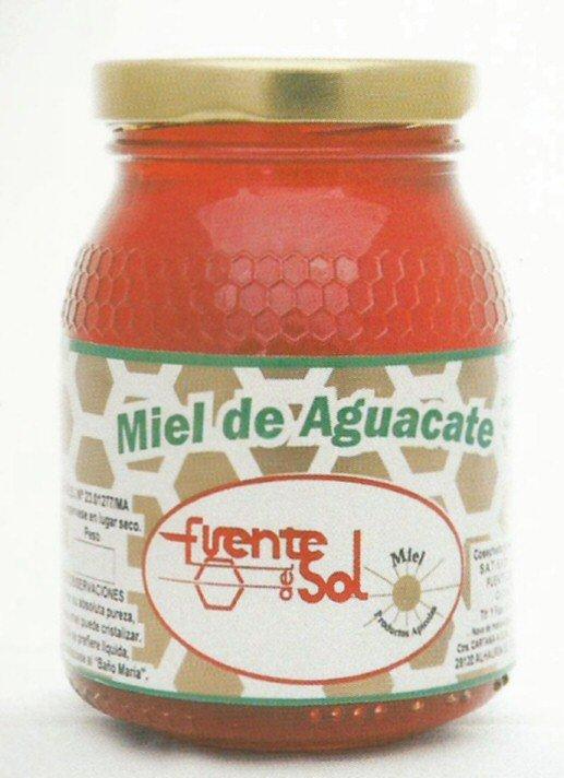 Miel de Aguacate, fuente de salud. Alimento Natural de Apícola Fuente del Sol de Alhaurín el Grande, Málaga