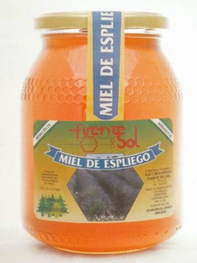 Miel de espliego, fuente de salud. Alimento Natural de Apícola Fuente del Sol de Alhaurín el Grande, Málaga